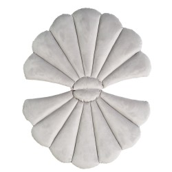 LIGHT GREY FLOATYshell pagalvė