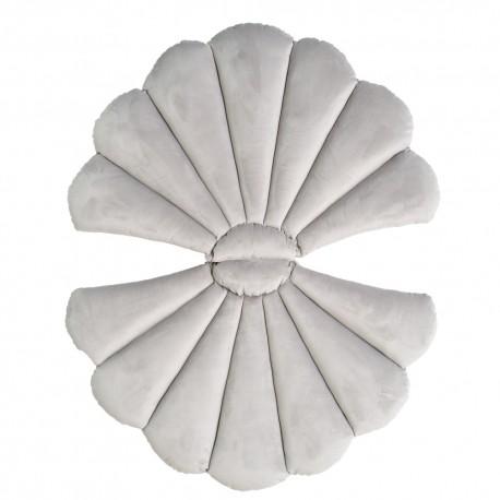 LIGHT GREY FLOATYshell pagalvė