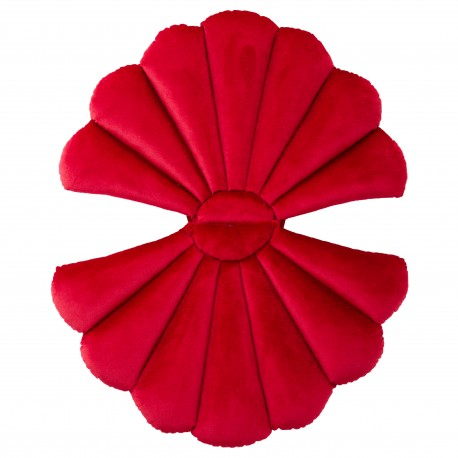XMAS RED FLOATYshell pagalvė
